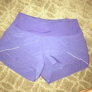 Size 2 purple lululemon shorts